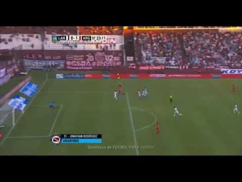 Argentinos le cortó la racha a Lanús