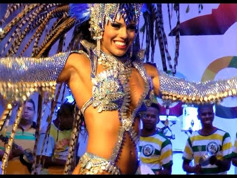 Rio Fitness Teacher Becomes Samba Dancer At Brazil´s Carnival video