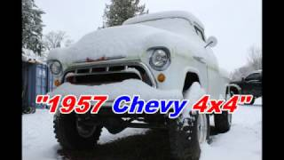 Classic Truck Rescue 1957 Chevy 4x4 (CTR 64)