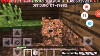 Minecraft pe#2: hoan thanh not nha