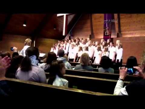 Hope Lutheran School 6th, 7th and 8th Grade Choir