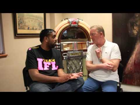 FRANK WARREN ON RIGONDEAUX, FURY v CHISORA, BUNDU TWEET, BROOK / KHAN & KELLIE MALONEY. (INTERVIEW)