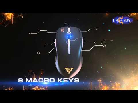 GAMDIAS EREBOS LAser Gaming Mouse: The Smooth Weapon