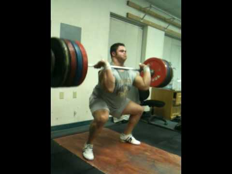 200 kg Power Clean / 440 pounds Image 1