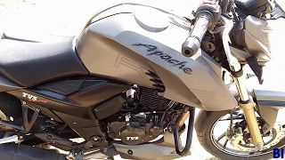 TVS Apache RTR 200 4v Secret Oil cooled Engien with real Review Price Mileage hindi