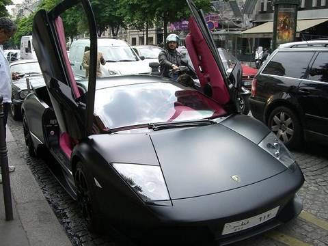Lamborghini LP640 from Qatar (pink interior) Video