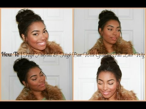 How To | High Ponytail & High Bun With RPGShow Glueless Lace Wig