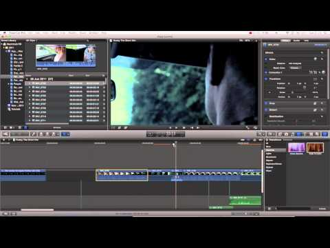 Final Cut Pro Basics Tutorial Pt. 10 - Transitions + Video Keyframes