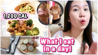 WHAT I EAT IN A DAY TO LOSE WEIGHT FAST WITHOUT EXERCISE!!! (Quarantine Edition)