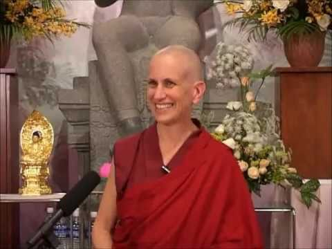 Thubten Chodron Wonderful Dhamma Talk (Must watch!)