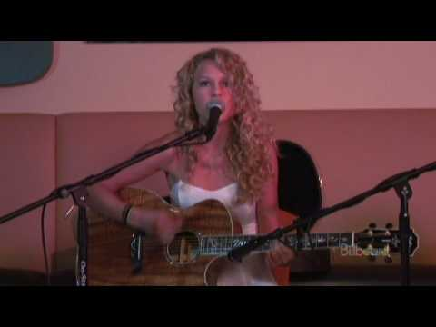 Taylor Swift - Tim McGraw (ACOUSTIC LIVE!)