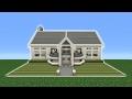 Minecraft Tutorial: How To Make A Modern Suburban Mansion