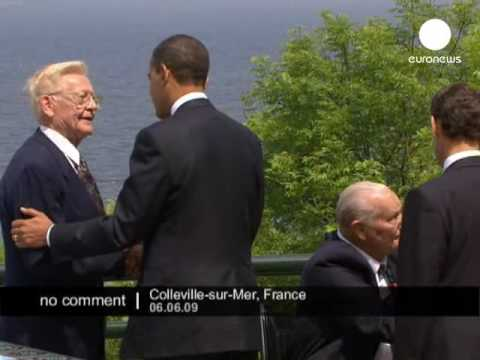 Obama and world leaders attend D-Day ceremony in France