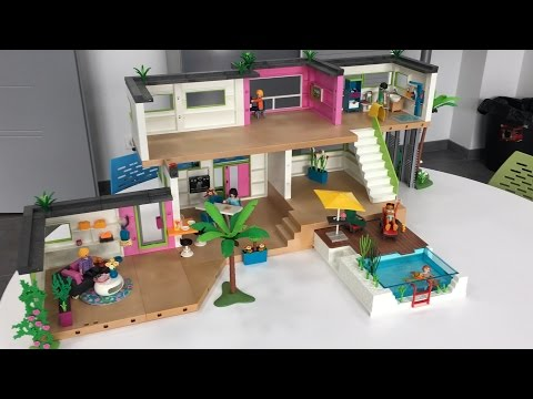 Studio city le for Maison moderne playmobil