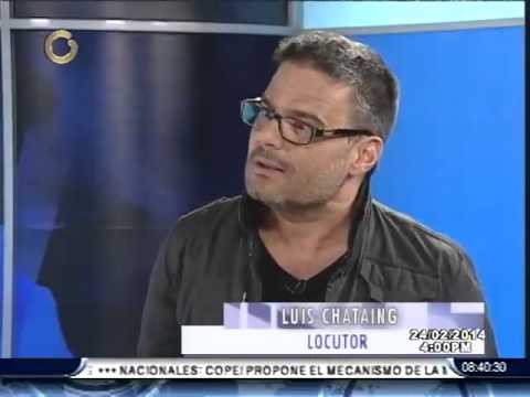 Shirley Varnagy entrevista a Luis Chataing Parte I