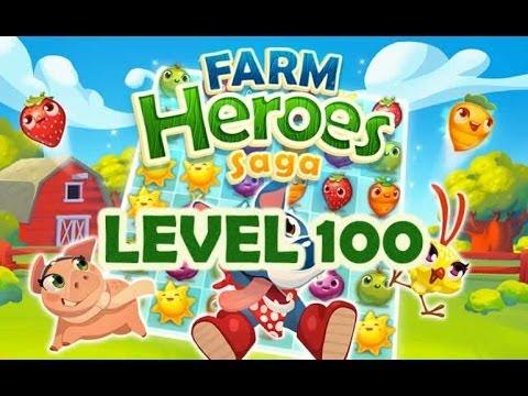 Farm Heroes Saga Level 100