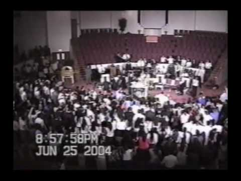 Derramamiento del Espiritu Durante la Predicacion Convencion 2004 AJEC RSE Nuestra Historia