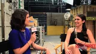 Italia Ricci interviewed about Season 2 of Chasing Life on ABC Family #ChasingLife #Interviews