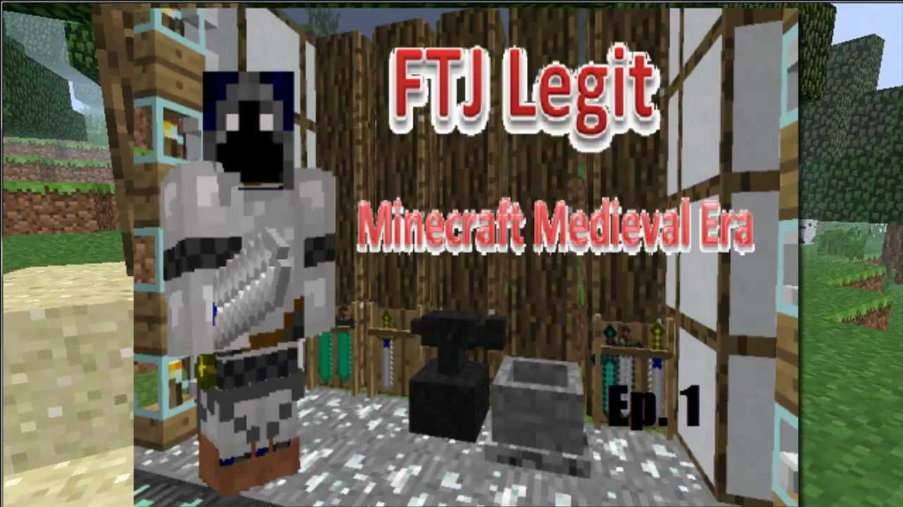 Minecraft  Medieval Lets Play Ep. 1 - YouTube