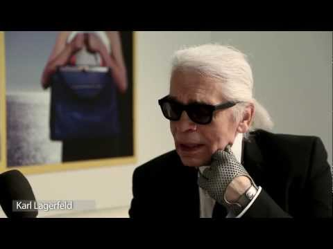 KARL LAGERFELD INTERVIEW – F/W 2013-14