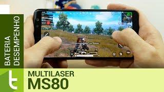 Multilaser MS80 fica um degrau abaixo de concorrentes em bateria e desempenho