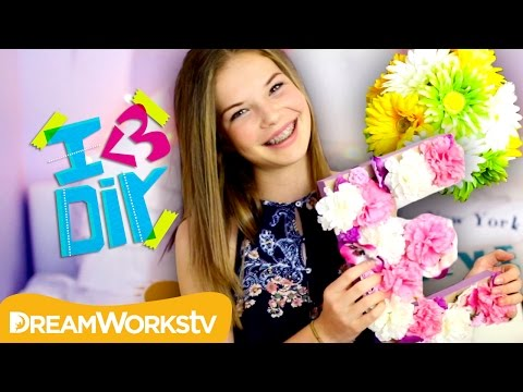 DIY Spring Room Decor with Elliexoxofashion | I ♥ DIY
