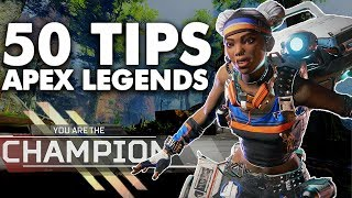 50 VALUABLE Apex Legends Tips to Improve!