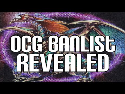 Yugioh Ocg Japanese Banlist 1 1 15 - Chaos Emperor Dragon & Effect Changes video