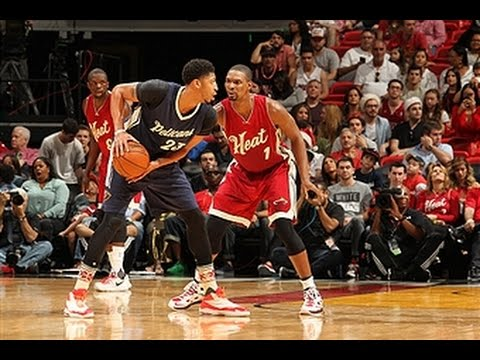 Anthony Davis and Chris Bosh Duel in Miami!