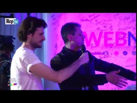 Momenti magici a WebNotte - Repubblica TV