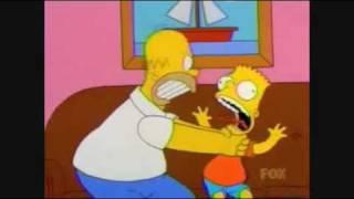 Homer simpson strangle bart