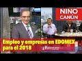 Empleo y empresas en EDOMEX para el 2018