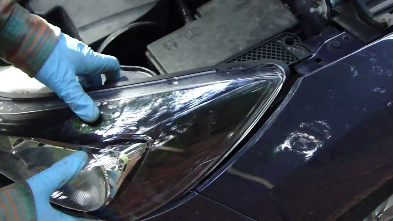 How To Change Headlight Ford Focus  Years 2011-2014