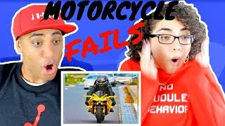 MY DAD REACTS TO Ultimate Motorcycle Fails Compilation 🏍 2018 Moto Videos REACTION