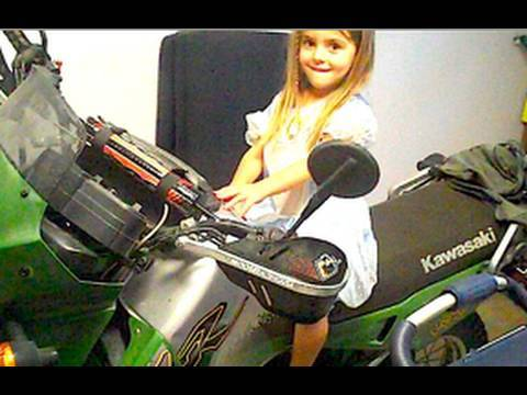 Motorcycle girl (10/3/2009-213) Video