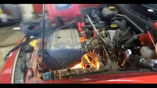 Download rx8 start up flooded and on fire 3Gp Mp4