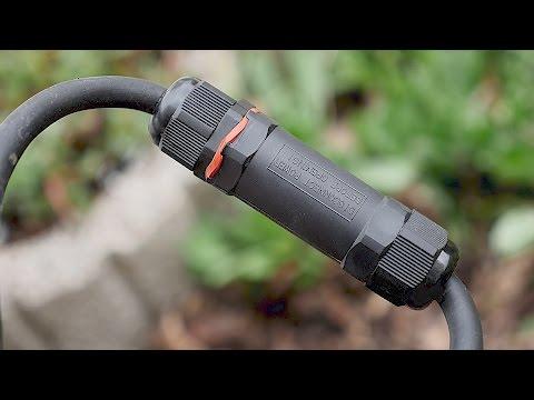 (Strom)Kabel Wasserdicht verbinden, verlängern & reparieren! Verbindungsmuffe für Erdkabel