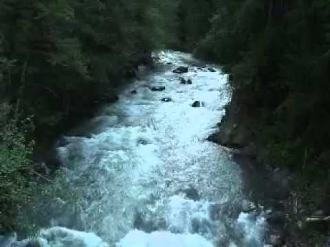Waterfall Sleep Sounds 8 Hours Recorded At Mt. Rainier National Park video