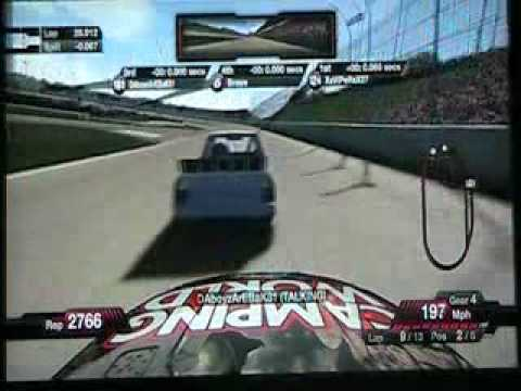 Nascar 09 - Online Race Weekend At Atlanta Video
