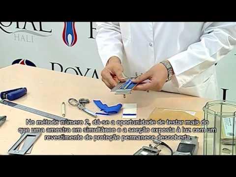 P36 Determinação da solidez dos tintos à luz artificial P411