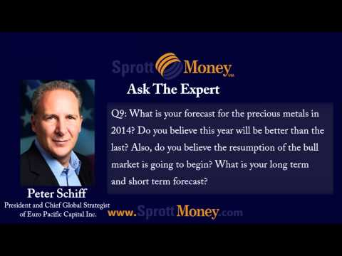 Ask the Exert - Peter Schiff [Part 3/3] - Mainstream Media, Gold Standard & 2014 Metals Prices