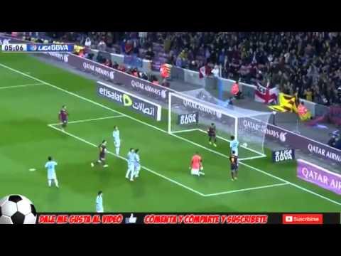 Barcelona vs Celta de Vigo 3-0 All Goals La Liga BBVA 26/03/2014