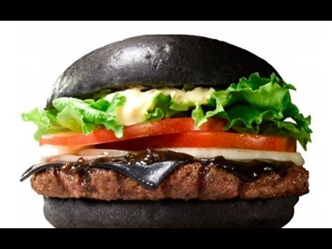 Burger King's Black Burger Unboxing - TGS 2014