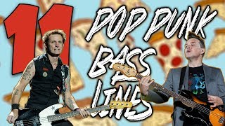 11 DEFINING Pop Punk Bass Lines