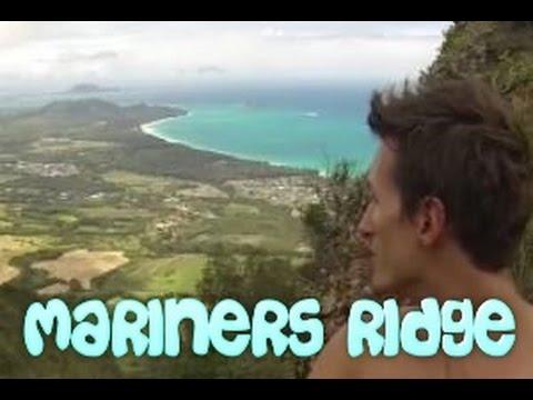Ridge Hike Oahu Illegal Hike Mariners Ridge
