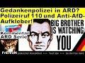 Gedankenpolizei In ARD? Polizeiruf 110 Und Anti AfD Aufkleber!