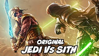 5000 Year ORIGINAL Jedi Vs. Sith War: The Great Hyperspace War - Star Wars Explained