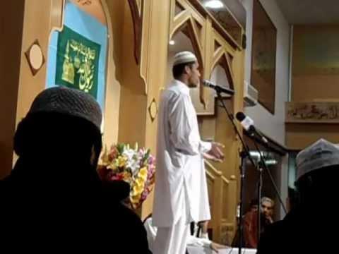 Syed Joneed Hussain Shah Qazmi - Manchester Mehfil-e-Naat 2012