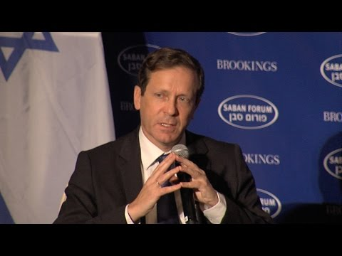 Saban Forum 2014 - A Conversation with Isaac Herzog