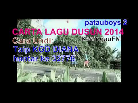 Patauboys Home Studio: Carta Lagu Dusun Keningau Fm 2014 'okon Ko Yoku' By: Diana Marcella video